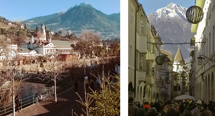 view of Merano, Merano cathedral
