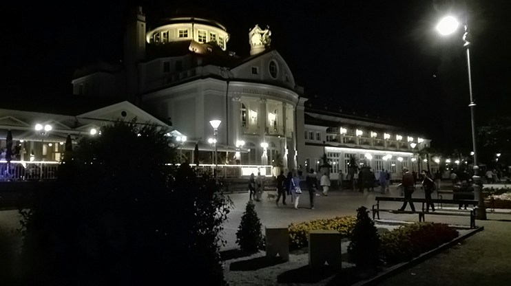 Merano promenades, Merano by night