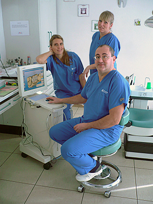 dental practice, orthodontics, oral surgery, prosthesis, implantology, radiology, Sirona CEREC
